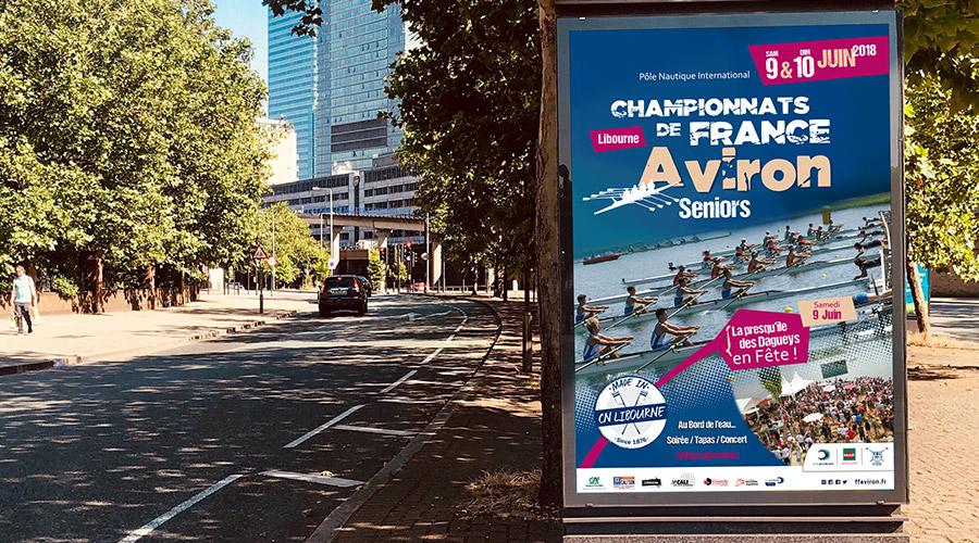 Affiche Aviron